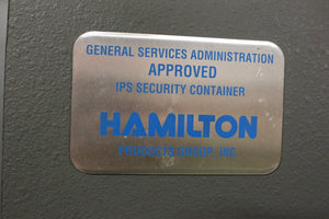 Hamilton Class 5 IPS Information Processing System Security Cabinet