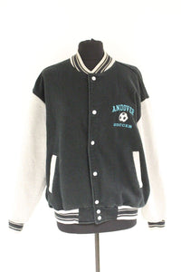 Andover Soccer Button Up Jacket Sweater, XLarge