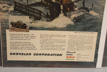 Load image into Gallery viewer, Army Imagination and Performance Chrysler Corp War Magazine Memorabilia