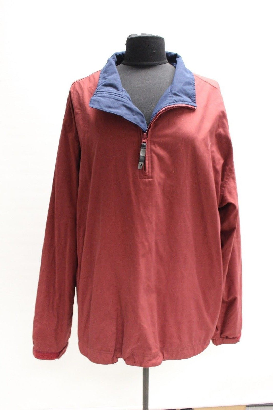 Nike Golf 3/4 Zip Jacket, Size: XL, Color: Burgundy