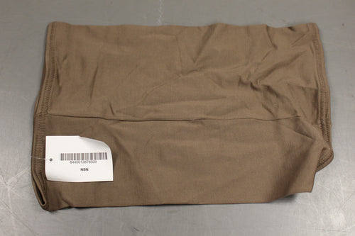 US Military Cold Weather Neck Gaiter, 8440-01-387-8509, Coyote Brown, New!