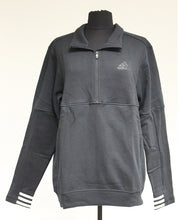 Load image into Gallery viewer, Adidas 1/2 Zip Postgame Sweatshirt, Size: Large, Black, New!