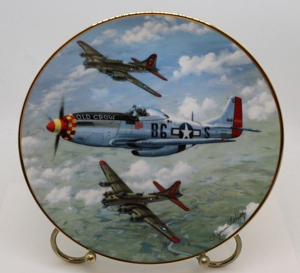 Great Fighter Planes of WW II Plate Collection,