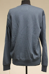 Sonoma Crew Neck Sweatshirt, Blue, Size: Medium