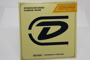 Dunlop Nylkon/Silver Classical Guitar Strings, Normal Tension with Ball Ends, New!
