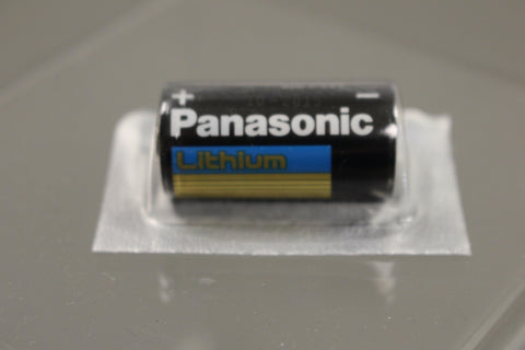 Panasonic Lithium Battery, CR123 A, 3 V, 6135-01-351-1131