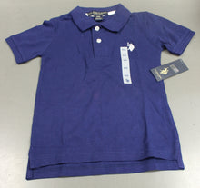 Load image into Gallery viewer, U,S, Polo Assn Boys Blue Polo, Short Sleeve, Small (4), New