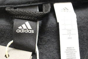 Adidas 1/2 Zip Postgame Sweatshirt, Size: Large, Black, New!