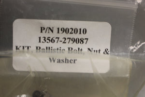 ACH Ballistic Bolt, Nut, & Washer Kit, 13567-279087, 1902010, New
