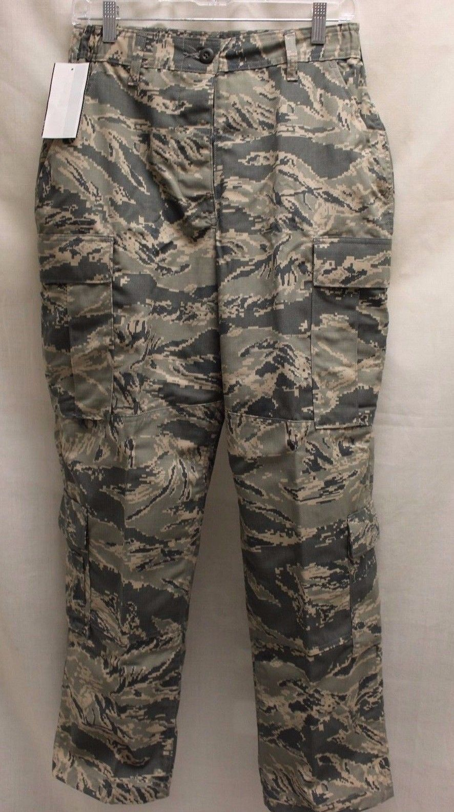 USAF Women's Utility Trousers, Digital Tiger, 10S, NSN 8410-01-598-7273, New