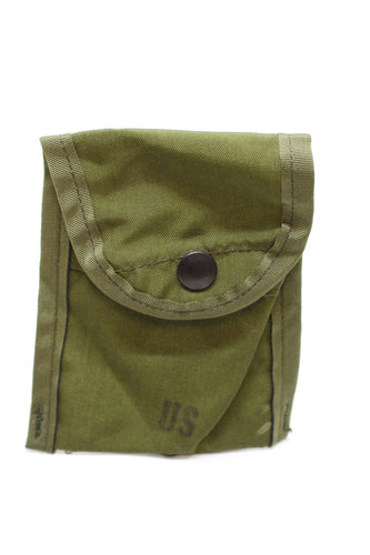 US Military OD Green First Aid/Compass Pouch, 8465-00-935-6814