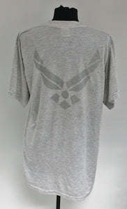 AF Air Force PT T-Shirt, Physical Fitness T-Shirt, Short Sleeve, Various Sizes