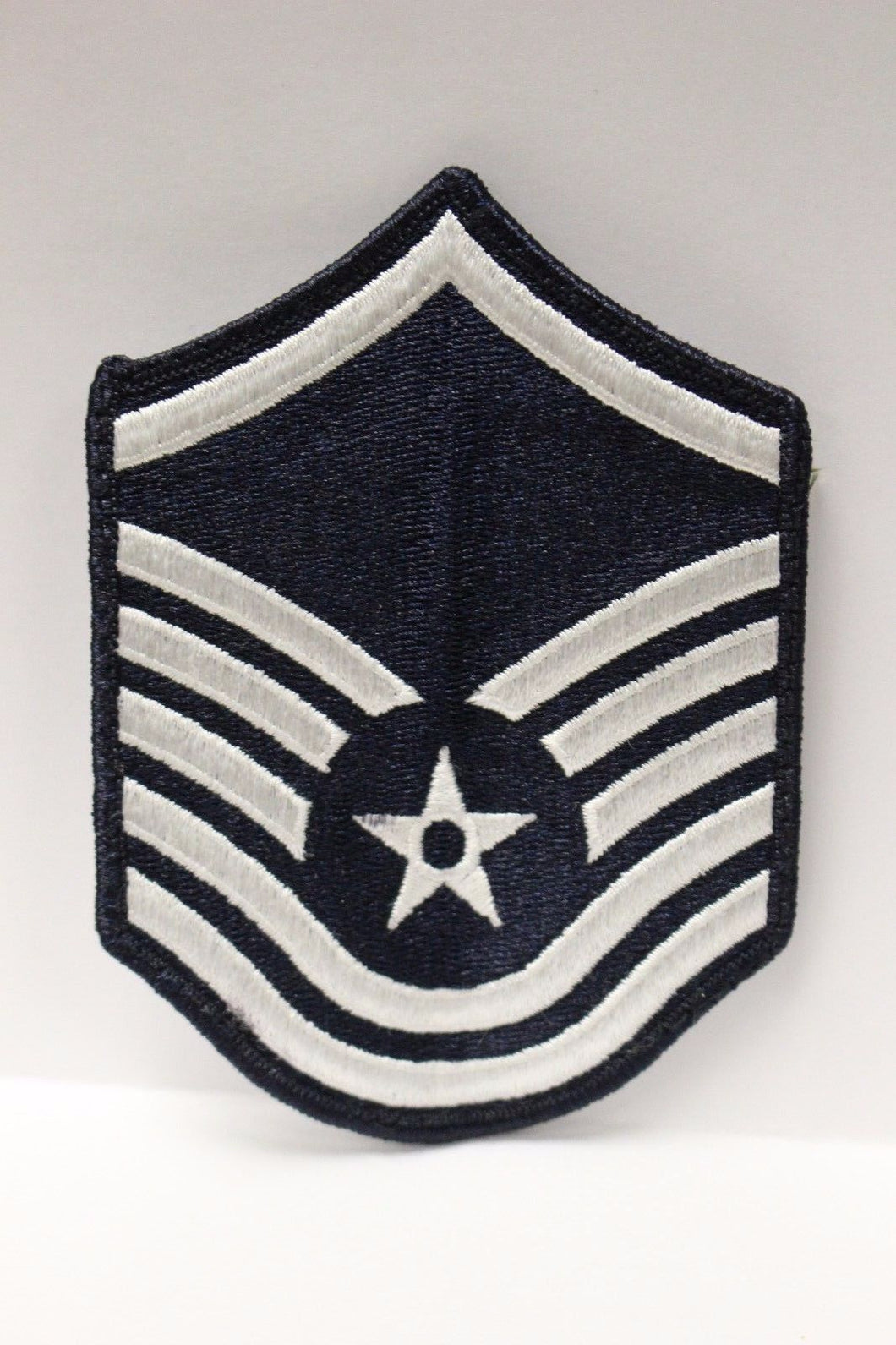AF Air Force Embroidered Chevron Master Sergeant E-7, Small, 3.5