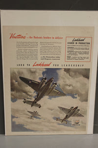 """Ventura"" The Hudson's Brother In Defense War Magazine Memorabilia"