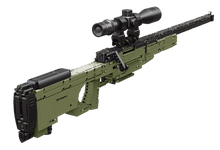 Load image into Gallery viewer, Remington Building Blocks Sniper Rifle - 14+ Age - 1491 Pieces - New