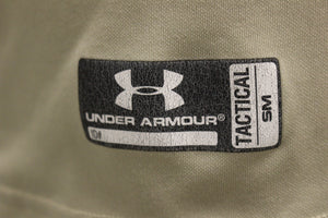 Under Armour Tactical T-Shirt, Size: Small, Desert Sand