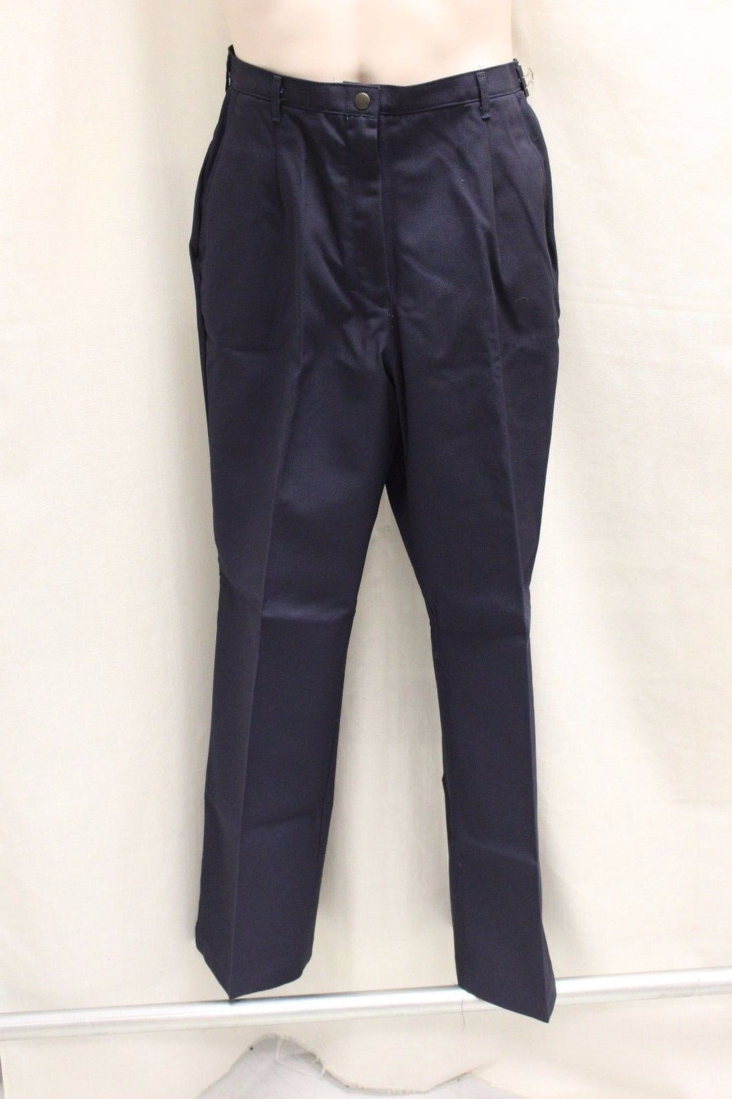 US Military DSCP Quarterdeck Women's Slacks, Size: 14WP x 29, Navy Blue, NEW!