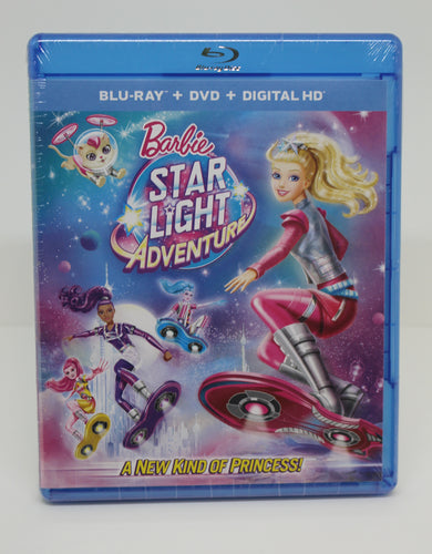 Barbie Star Light Adventure DVD, NEW!
