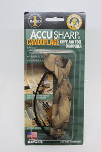 Accu Sharp Camouflage Knife and Tool Sharpener