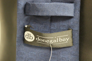 Donegal Bay Men's Syracruse Tone on Tone Necktie, New!