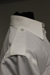 US Military Defense Logistics Men's White Dress Shirt, 8405-01-597-9312, 15C x 30/31