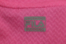 Load image into Gallery viewer, FILA Ladies Long Sleeve Top, Size: Medium, Two Tone Pink