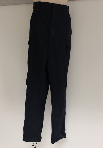 Galls Men's Pant, Large Long, Navy Blue