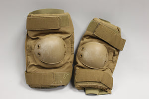 US Military Coyote Elbow Pads, 8415-01-515-0222, Medium, Used
