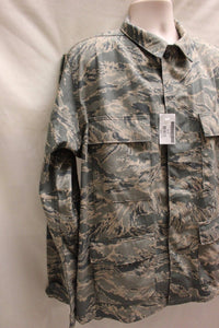 USAF Men's Utility Coat, Digital Tiger, Size: 44L, NSN: 8415-01-536-4591, New!