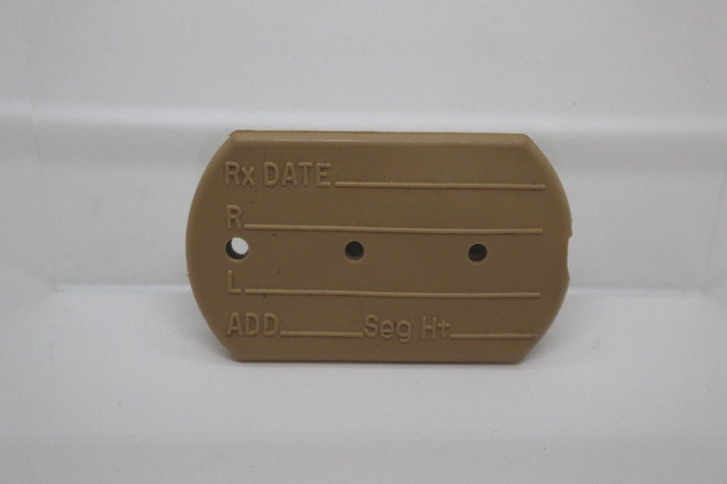 Personnel Identification Tag Cover, Flesh Color, NSN: 8465-00-999-7905