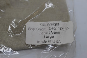 "US Military Drifire Silkweight Women's FR ""Boy Short"" - Size: Large - New"