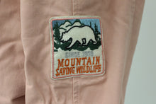 Load image into Gallery viewer, Iris Ladies Winter Coat, CA Be Wild & Wonder Patch, Mountain Saving Wildlife Patch, Large, Dusty Pink