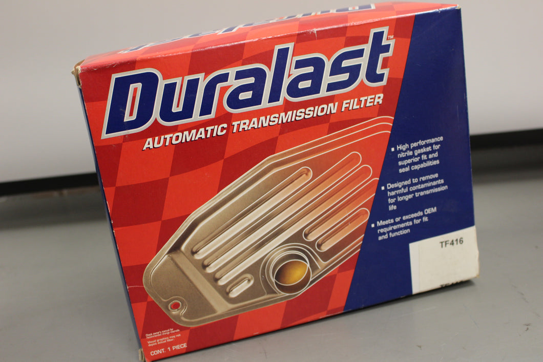 Duralast Automatic Transmission Filter, TF416, New!