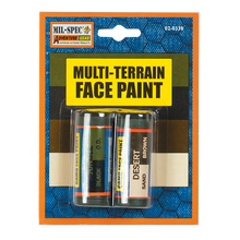 Load image into Gallery viewer, Multi-Terrain Face Paint - Sand, Brown, Black, OD - New