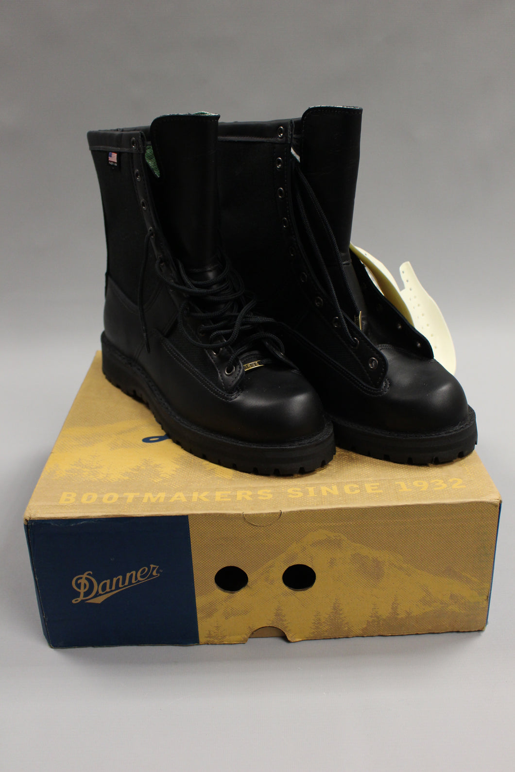 Mens Danner Acadia 400 Black Tactical Boots - Size: 9 EE - New