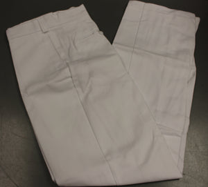 Men's Hospital White Poly/Cotton Pants, Size: 40 X 34, 8405-00-110-9478, Used