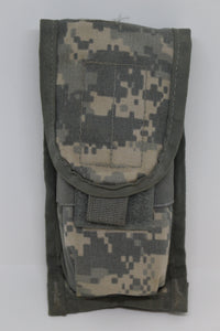 US Military Molle II ACU Double Mag Pouch, 8465-01-525-0606, Grade A
