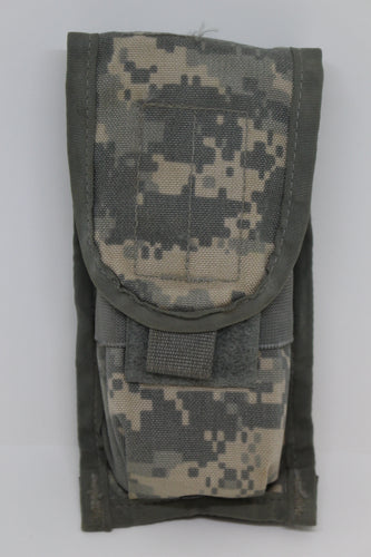 US Military Molle II ACU Double Magazine Pouch, 8465-01-525-0606, Grade B