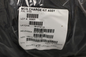 Aircraft Personnel MCG Personal Charge Kit Assembly, NSN 1680-01-509-4762, New