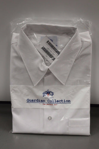 US. Navy DSCP Men's White Dress Shirt, Size: 19 x 35, 8405-01-475-0934, New