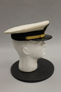 U.S. Navy Officer Service Cap, Size 7-1/4