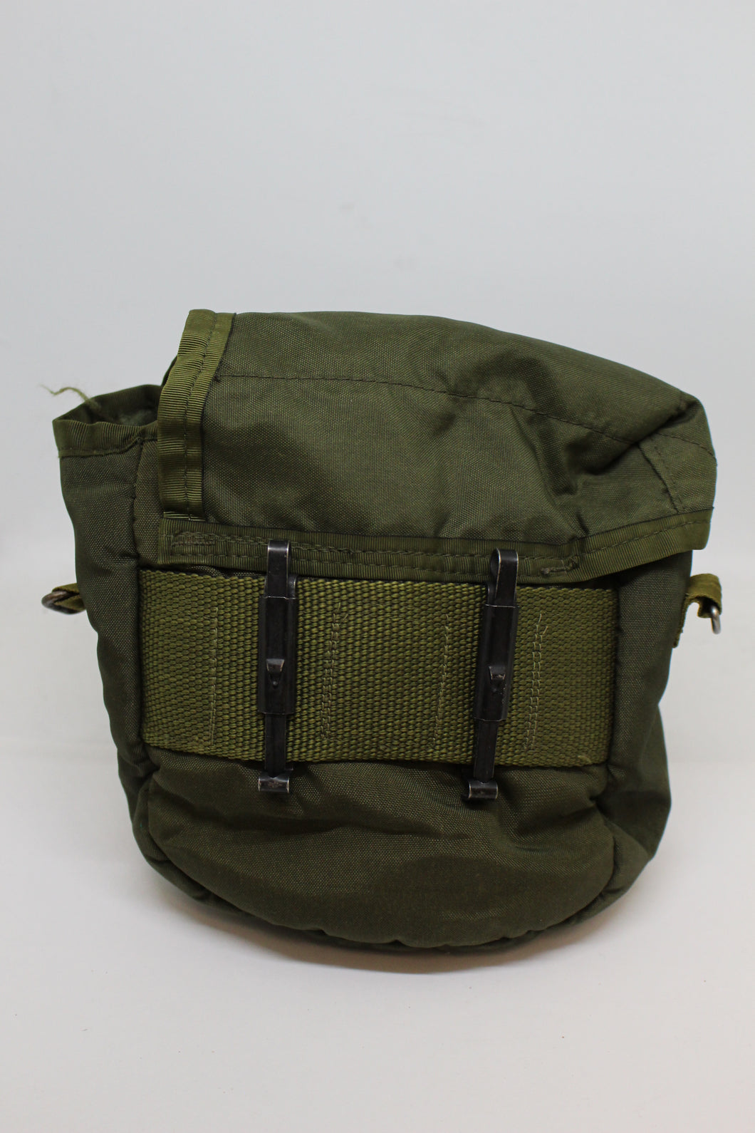 US Military Collapsible Canteen Cover, OD Green, Grade F