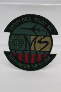 4950th Original Maintenance Squadron, Supporting the Future Patch, Sew On