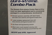 Load image into Gallery viewer, US Military Uvex Genesis Dura-streme Combo Pack, 4240-01-552-4131, New