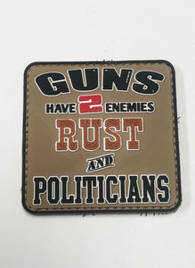 Moral Patch: Guns Have 2 Enemies Rust & Politicians, Loop & Hook, New
