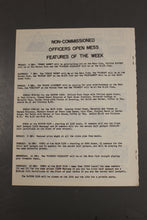 Load image into Gallery viewer, US Army Armor Center Daily Bulletin Official Notices, No 238, December 6, 1968