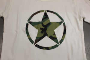 Rothco Camo Army Girls T-Shirt, White, Size: Medium, New!