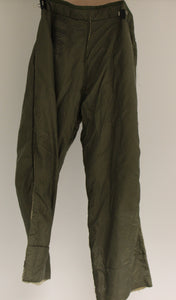 US Military M-1951 Field Trouser Liner, Size: Long-Medium, Wool Frieze