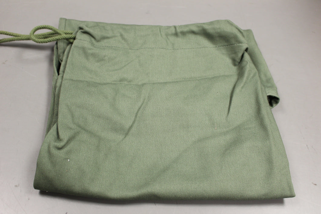 US Military Issued Barracks Bag, Cloth Laundry Bag, Olive Green , New