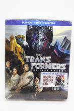 Load image into Gallery viewer, Transformers: The Last Knight Limited Edition DVD, Blue-Ray, Includes Draw String Bag, NEW!
